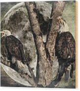 When Eagles Sing Wood Print