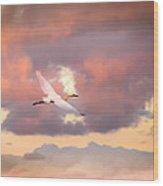 When Heaven Beckons Wood Print