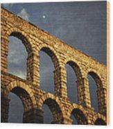 When In Segovia Wood Print
