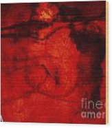 When Petal Left Stamen Wood Print
