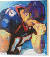 When Tebow Was A Bronco Wood Print