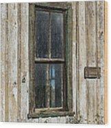When Times Were Better Wood Print by Sandra Bronstein