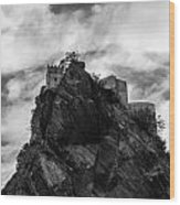 Italian Landscape - Where Dragons Fly  Wood Print