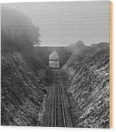 Where Is Steam Train Wood Print