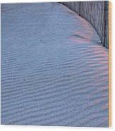 Where The Boardwalk Ends Wood Print