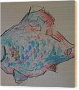 Whimsy Fish Wood Print