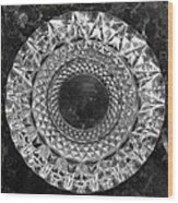 Whirl - 3 Wood Print