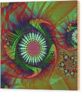 Whirligigs Wood Print