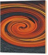 Whirlpool Wood Print