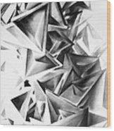 Whirlstructure II Wood Print