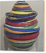 Whirly Swirly Wood Print