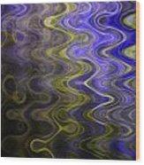 Whirly Whirls 1 Wood Print