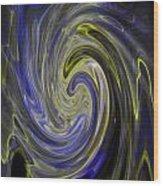 Whirly Whirls 8 Wood Print