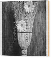 Whisk Bloom - Art Unexpected Wood Print