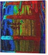 Whiskey A Go Go Wood Print by Alec Drake