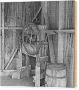 Whiskey Barrel  Wood Print
