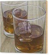 Whiskey Wood Print