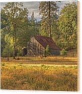 Whiskeytown Barn Wood Print
