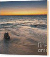 Whisper Of The Waves  Wood Print