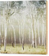 Whisper The Trees Wood Print