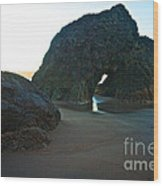 Whispering Arch Wood Print