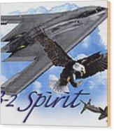 Whispering Spirit Wood Print