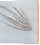 Whispering Weed Wood Print