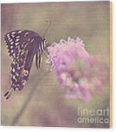 Whispers Of Nature Wood Print