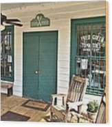 Whistle Stop Cafe Wood Print