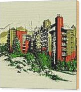 Whistler Art 004 Wood Print