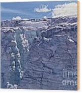 Whistler Glaciers Sc125-05 Wood Print