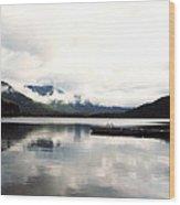 Whistler Lake Bc Wood Print