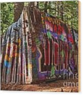 Whistler Train Wreck Wood Print