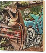 Whistler Train Wreck Stopping Point Wood Print