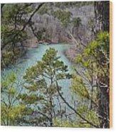 Whistling Pines Wood Print