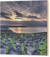 Whitby Graves Wood Print