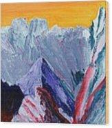 White Canyon Wood Print