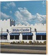 White Castle Wood Print by Bruce Lennon