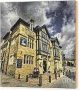 White Hart At Todmorden  Wood Print