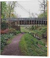 White Horse Canal Wood Print