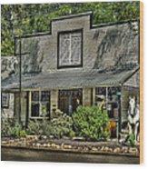 White Horse Tavern Wood Print