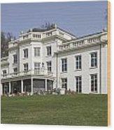 White House In Sonsbeek Park In Arnhem Netherlands Wood Print