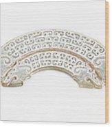 White Jade Wood Print