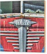 White Motor Company Highway Post Office U. S. Mail No 1 Wood Print