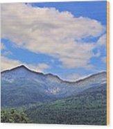 White Mountains Wood Print