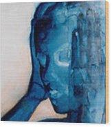 White Noise Wood Print by Graham Dean