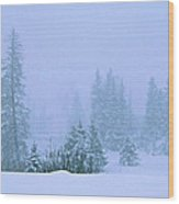 White Noise Wood Print