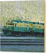 White Pass Railroad 2 Wood Print