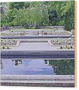 White River Gardens Wood Print