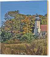 White River Lighthouse Wood Print